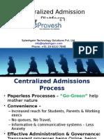 ePravesh.com Centralized Admission Platform