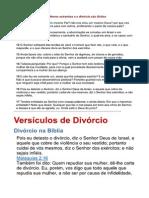 Casamento e Divorcio