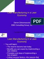 Lean in a Lean Economy