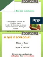 Ecologia - Conceitos básicos