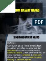 2. Sindroma Gawat Napas