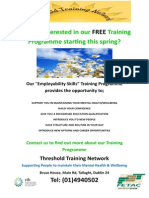 TTN Training Poster March 2015