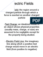 Electric Fields