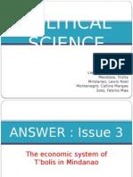 Political Science - Social Science 1 UPM