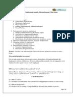 11 Economics Notes Ch16 Employment