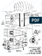 Gruman Wildcat Peanut model plan