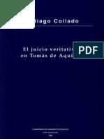 El Juicio Veritativo en Tomás de Aquini. Santiago Collado