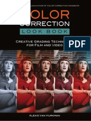 Color Correction Look Book Creative Grading Techniques For Film And Video Optics Imaging