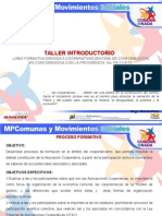 Taller Introductorio 2014
