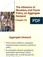 Lec-14A - Chapter 34 - The Influence of Monetary and Fiscal Policy on Aggregate Demand.ppt