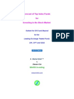 Forecast of Top Index Funds for Equities – 2015 and Beyond