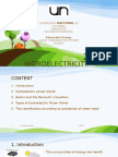 Hidroelectricity (Large Hydropower Plants)f