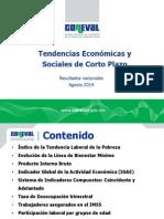 TENDENCIAS SOCIALES Y ECONOMICAS DE MEXICO AÑO 2014