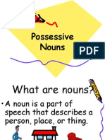 Possessive Nouns Randy