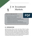 Topic 1 Investment Analysis