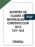 Apuntes de Materiales de Construccion#2