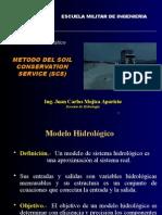 Modelo SCS Lluvia - Escorrentía