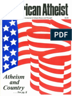 American Atheist Magazine May 1985