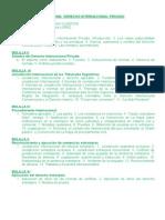 Derecho Internacional Privado. - Programa 2014