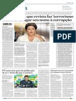 Dilma diz que veja faz 'terrorismo eleitoral'