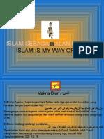 Islam Sebagai Jalan Hidupku
