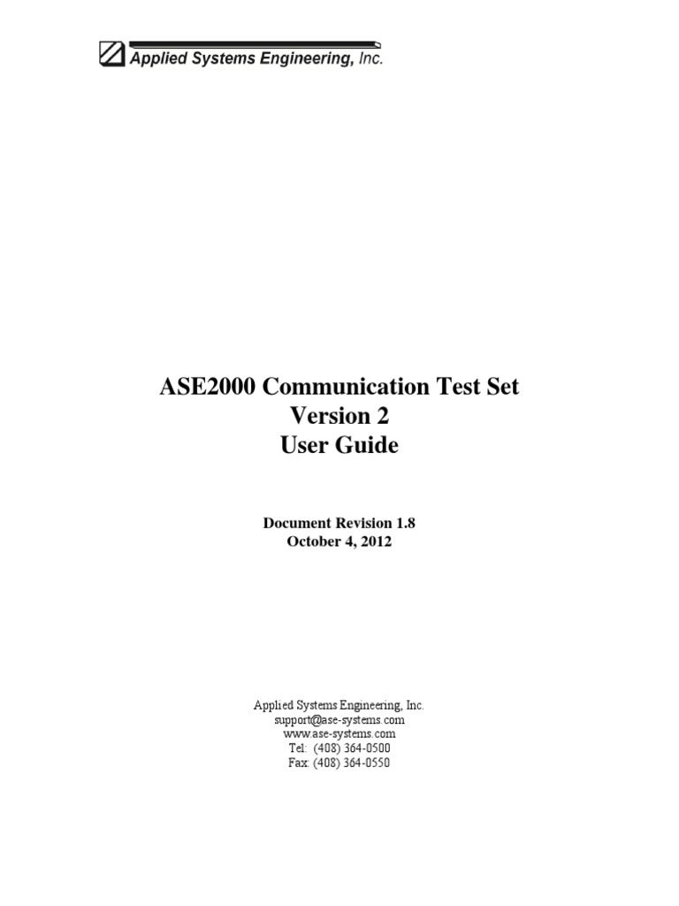 Ase2000 v2 user guide communications protocols microsoft windows 1betcityfo Image collections