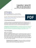 1311 Annotated Syllabus 2015