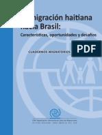 Migracion Haitiana Hacia Brasil Oim Espanol OIM