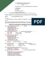 Informe Nº 02-2015-Informe de Avance de Historia