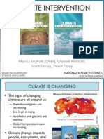 Climate Intervention Report Release Presentation
