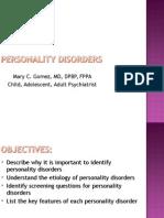 -PMHA Personality Disorders