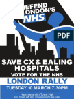 March rally leaflet