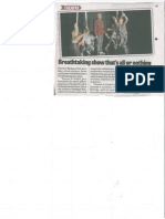 Three's a Crowd - Falkirk Herald - 19th Feb 2015