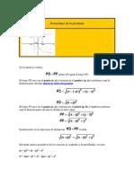 Ecuaciones de La Parábola