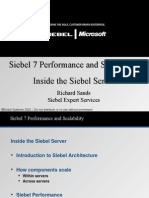 Siebel Performance and Scalability