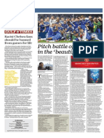 Pitch Battle of the Brands in the Beautiful Game - Gulf Times 19 Feb 2015