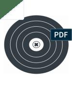 Target 4 - X1 - Practise Target - 30m - 60m