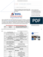 BSNL Nesam Gold Mobile Plan _ Prepaid Recharge Online