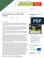 EDH - Edit William Pleytez - Desarrollo Inclusivo y Desarrollo Humano - 10 02 15