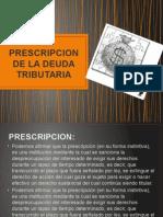 Diapositivas (Prescripcion de La Deuda Tributaria)