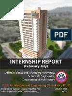 Architecture Internship Final Report