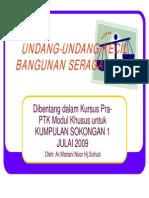 68289411 Undang Undang Kecil Bangunan Seragam 1984 Ptk Revised