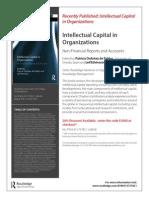 Intellectual Capital in Organizations