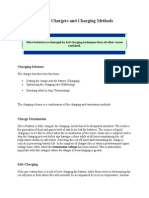 Battery Chargers and Charging Methods
