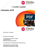 Chorley Time Credits Update Feb 15