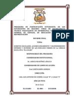 Informe de Educación Ambiental (2014-2015)