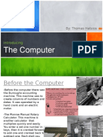 the computers in communication