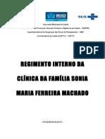 Regimento Interno SMFM 2015