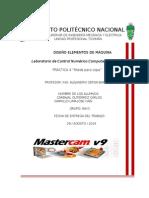 Diseño de un molde para copa mediante el software MasterCam V9