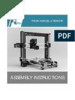 Prusa i3 Rework Assembly Instructions